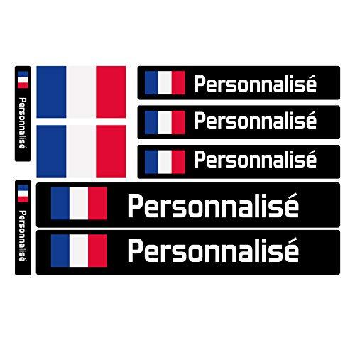 Haberdashery Online 9 Autocollants en Vinyle pour vélo, Moto, Bouteille, des Objets, etc. Drapeau...