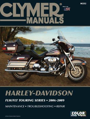 Harley-Davidson FLH/FLT Touring Series 2006-2009 (Clymer Powersport)