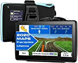 Sat Nav for Car Truck,7 Inch GPS Navigation Pre-loaded UK and EU 2021 Maps with Lifetime Free Updates Capacitive Touch Screen Satellite Navigation