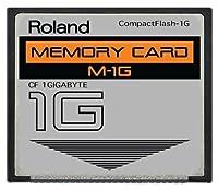 1GB Roland M-1G CompactFlash CF Memory Card for MC-808, SP-404, SP-555, V-Synth, Fantom and more [並行輸入品]