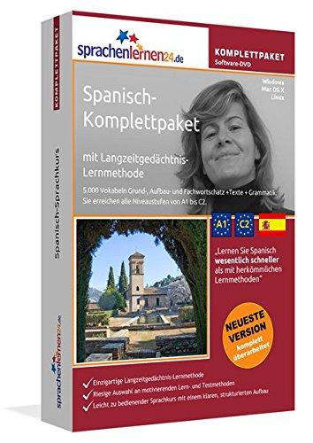 Spanisch Sprachkurs: Fließend Spanisch lernen. Lernsoftware-Komplettpaket