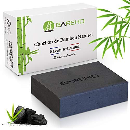 BAREHO : Savon Au Charbon De Bambou Actif,...