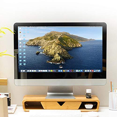 Kuan Monitor Stand Laptop Stand Display Increase Rack Computer Rack Notebook Keyboard Rack Desktop Storage Rack Bracket Height Bracket
