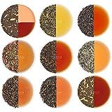 VAHDAM, Assorted Loose Leaf Tea Sampler - 10 TEAS, 50 SERVINGS - Black Tea, Green Tea, Oolong Tea,...