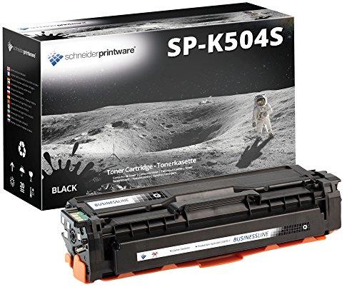 SCHNEIDERPRINTWARE Toner (35 Prozent mehr DRUCKLEISTUNG) als Ersatz für CLT-K504S schwarz für Samsung CLP-410 CLP-415N CLP-415NW CLX-4190 CLX-4195FN CLX-4195FW CLX-4195N Xpress C1810W C1860FW