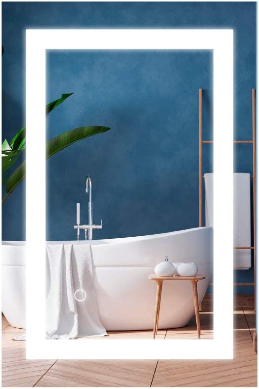 LEDMyplace 24 X 36 Inch Backlit Lighted Cheap mail order shopping + LED lit Front 2021 spring and summer new Bathrom