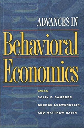 Advances in Behavioral Economics (The Roundtable Series in Behavioral Economics)の詳細を見る