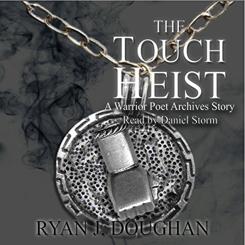 The Touch Heist audiobook cover art