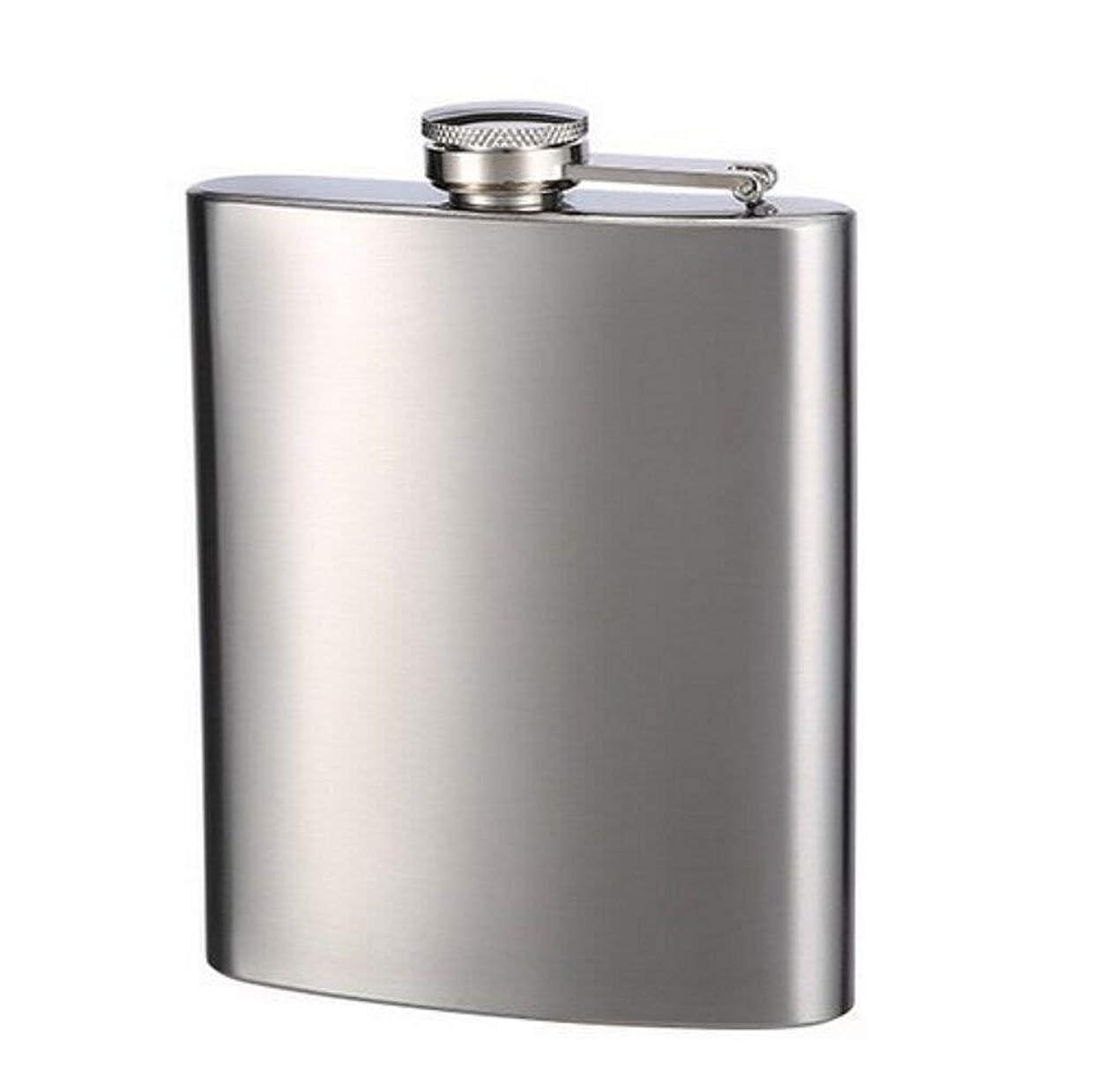 日付付きボトル大学voocye スキットル ヒップ フラスコ 8oz 220ml ステンレス製 錆びない ウイスキー 清酒 ボトル 携帯用 超軽 父の日 プレゼント