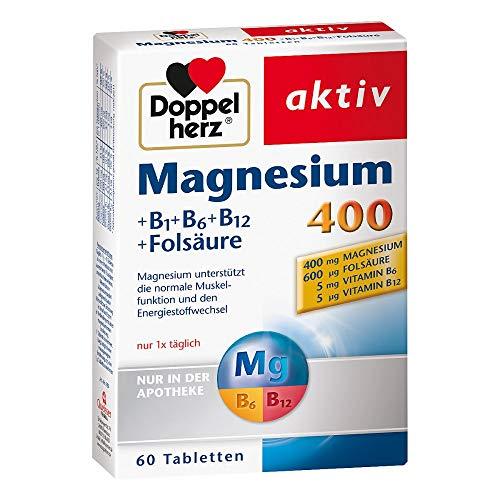 doppelherz magnesium 400 mg tabletten 60 St