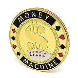 NBLL 10 Monedas conmemorativas, coleccionables, 1.6 Pulgadas de diámetro, Forma Redonda, con una Cubierta Protectora Clara, Pueden Crear Regalos conmemorativos duraderos para los Amigos