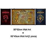 WAPATY Wow World of Warcraft Poster leinwand malerei Für