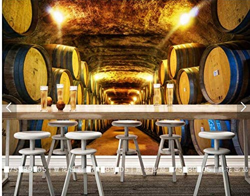 3D vliesbehang 3D fotobehang Historisme is gedecoreerd instelling muur wijnkelder woonkamer decoratie 430 x 300.