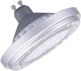 Led Dimmable GU10 AR111 Bulb Spotlight 15W 30°Beam View Angle Cool Light 6000k-6500k SMD 15LEDs AC120v Spot Reflector Lights 1200Lm Lenth 58mm 2.28