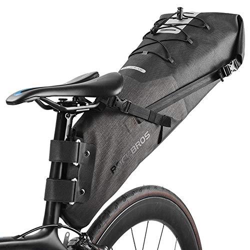 La Bolsa De Moto Impermeable Reflectante De Gran Capacidad 10L Bolsa De...