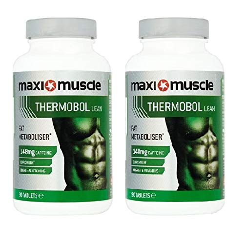MaxiMuscle Thermobol Fat Metaboliser Tablets, 90 Tablets Twin Pack