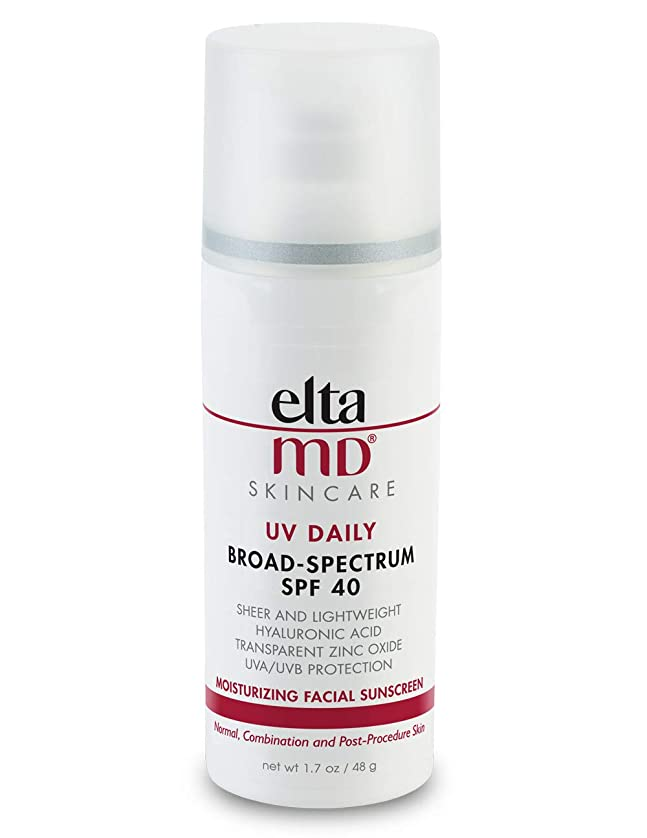 管理する明快後者エルタMD UV Daily Moisturizing Facial Sunscreen SPF 40 - For Normal, Combination & Post-Procedure Skin 48g/1.7oz