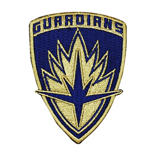 Guardians of The Galaxy Logo Patch Emblem Marvel Movie IronOn Applique