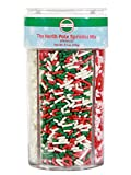 Mystic Sprinkles The North Pole Sprinkle Mix 5.1oz 4 Cell Bottle