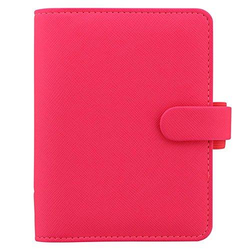 Filofax Taschen-Organizer Saffiano Fluro Pink