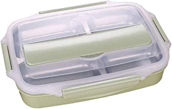 WCHCJ Insulated Lunch Box, Bento Boxes,Lunch Boxes,Stainless Steel Thermal Microwave Student Bento Spoon Chopsticks Lunch ...