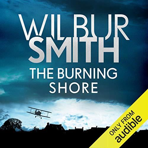 Couverture de The Burning Shore