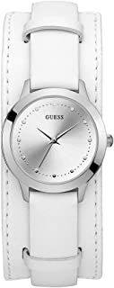 Guess Womens Quartz Watch, Analog Display and Leather Strap - W1151L1