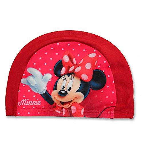 GUIZMAX Badekappe Minnie Mädchen Rot Kinder