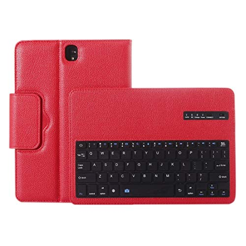 Satisfy Your Comfortable and Healthy Life for Galaxy Tab S3 9.7 / T820 2 in 1 Detachable Bluetooth Keyboard Litchi Texture Leather Case with Holder,with Durability and Excellent Protection.(Black)