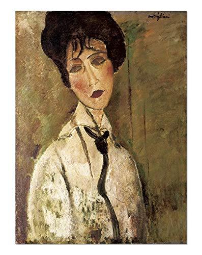 ART ALPHA Póster de la película Amedeo Modigliani con Corbata, 120 x 160 cm