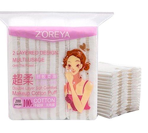 Maquillage Maquillage Coussinets de coton faciale 200pcs