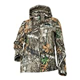 DSG Outerwear Women's Ella Hunting Jacket with Realtree Camo Edge (Large)