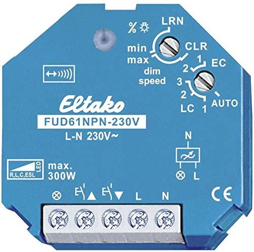 Eltako Funkaktor Universal Dimmschalter 230V. Power FUD61NPN-230V