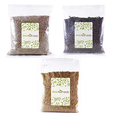 Attar Ayurveda Methi, Ajwain, Kali Jeeri Combo Pack (400 grams)