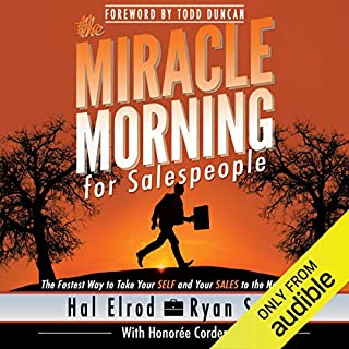 The Miracle Morning for Salespeople audiobook cover art