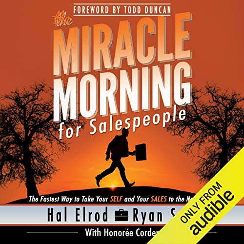 Page de couverture de The Miracle Morning for Salespeople