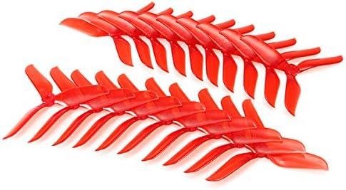 BliliDIY 10 Pares V2 5048 5X4.8X3 H/élice De 3 Palas Racing 5.0Mm Orificio De Montaje para RC Drone FPV Racing Claro