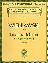 Henryk Wieniawski: Polonaise Brillante Op.4 (Violin & Piano)