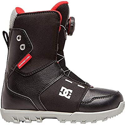DC Youth Scout BOA Snowboard Boots Black 2 Little Kid M