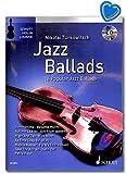 Jazz Ballads - 16 Famous Jazz Ballads Violine für Violine - Ausgabe mit CD, mit eingelegter Klavierstimme / ED22812 / 9783795712426