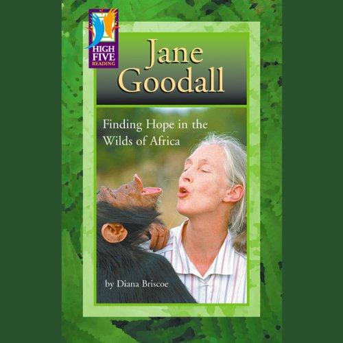 Jane Goodall audiobook cover art
