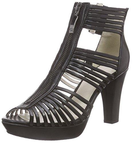 Gerry Weber Shoes Damen Ella 16 Kurzschaft Stiefel, Schwarz (schwarz 100), 38 EU