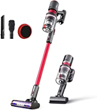 Dibea Cordless Stick Vacuum Cleaner Powerful Suction 25KPa Quiet Lightweight Multi-Function Handheld Vacuum Deep Clean for Floor Carpet Car Pet Hair Latest Model F20MAX