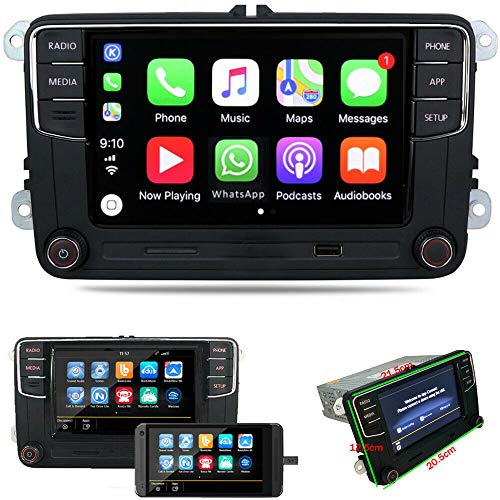 6.5'autoradio RCD360 Carplay MirrorLink Bluetooth USB SD per VW GOLF MK5 6 CADDY POLO EOS CC