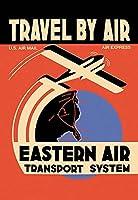 """Eastern Air TransportシステムFineアートキャンバス印刷( 20"""" x30"""" )"""