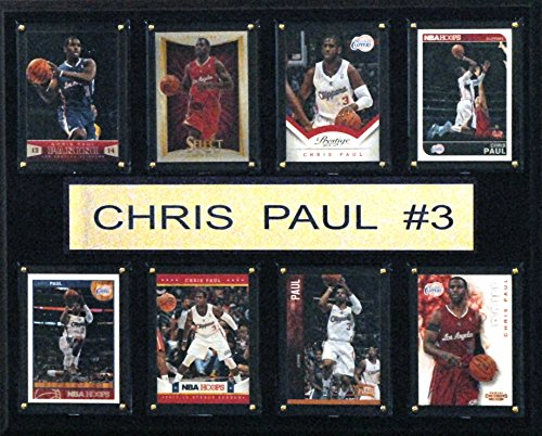 NBA Los Angeles Clippers Chris Paul 8-Card Plaque, 12 x 15-Inch
