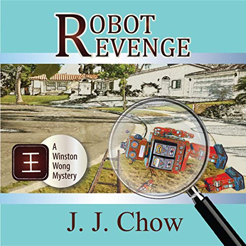 Robot Revenge audiobook cover art