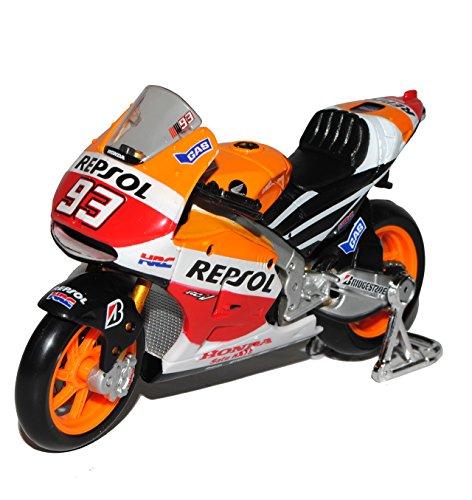 Maisto Hon-da RC213V Repsol Moto GP Weltmeister 2014 Marc Marquez Nr 93 1/18 Modell Motorrad