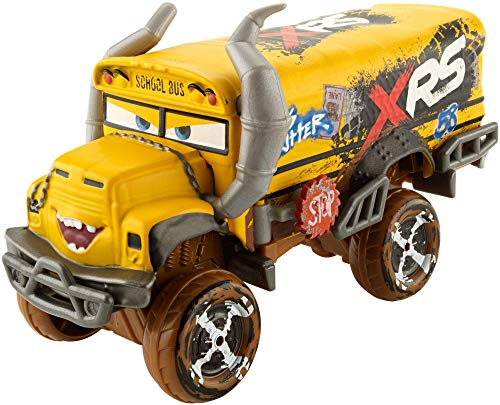 Disney Cars XRS Mud Racing Miss Fritter, Veicolo Die-Cast, Giocattolo per Bambini 3+ anni, GBJ46