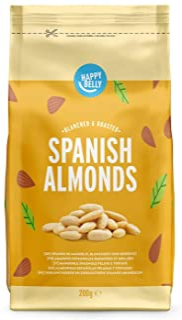 Marca Amazon - Happy Belly Almendras españolas 7 x 200gr